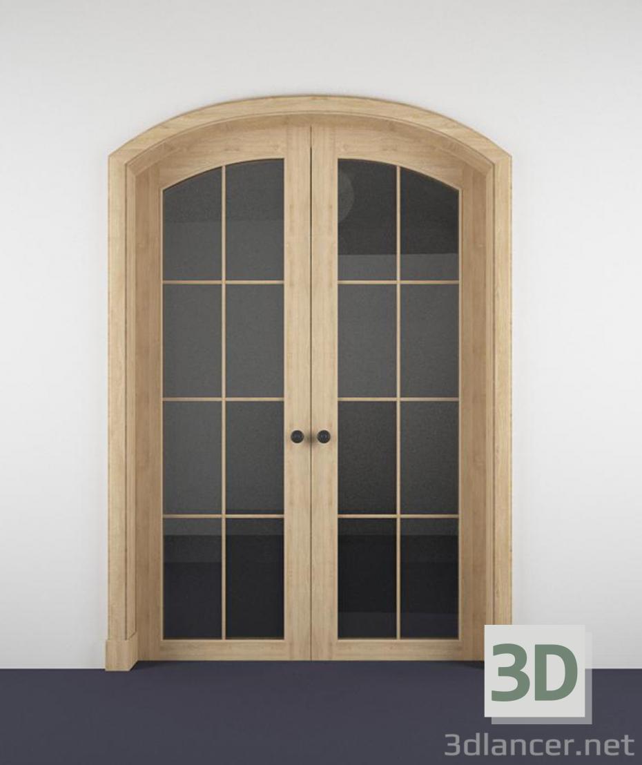 modello 3D Porte interne - anteprima