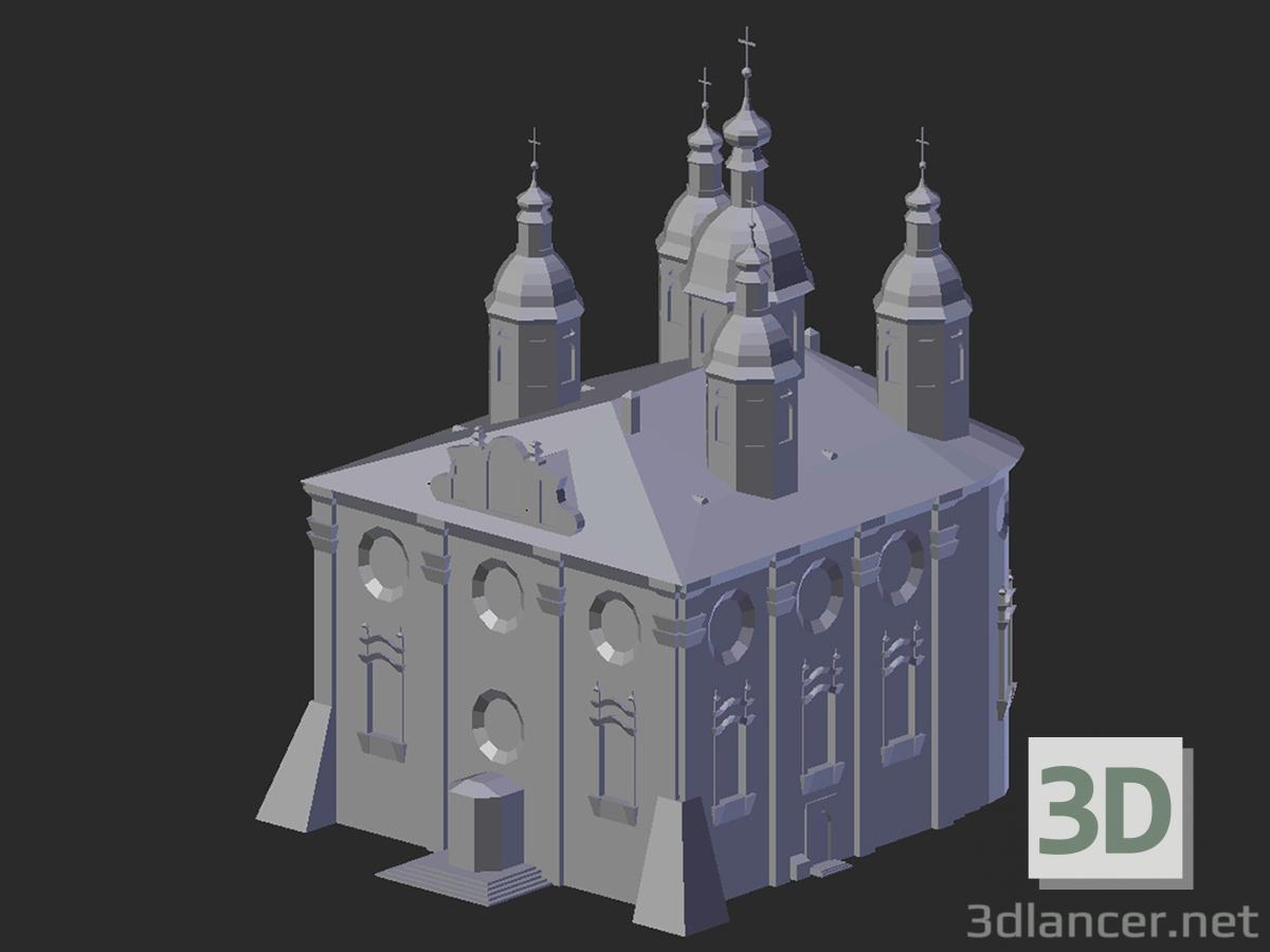 3d model Smolensk. Assumption Cathedral - preview