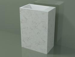 Lavabo sur pied (03R136103, Carrara M01, L 60, P 36, H 85 cm)