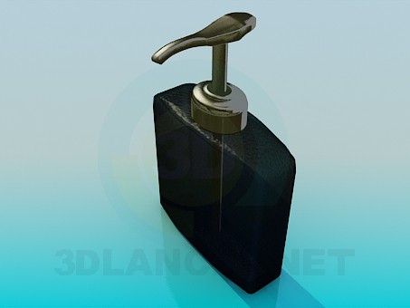 modelo 3D Depósito para jabón líquido - escuchar