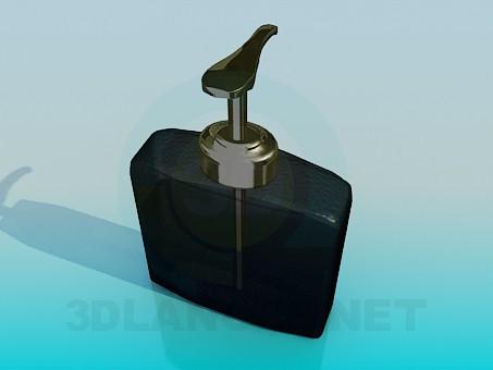 3d модель Емкость для жидкого мыла – превью