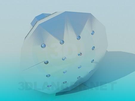 modelo 3D Perilla - escuchar