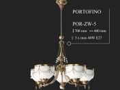 Lámpara KUTEK PORTOFINO POR-ZW-5