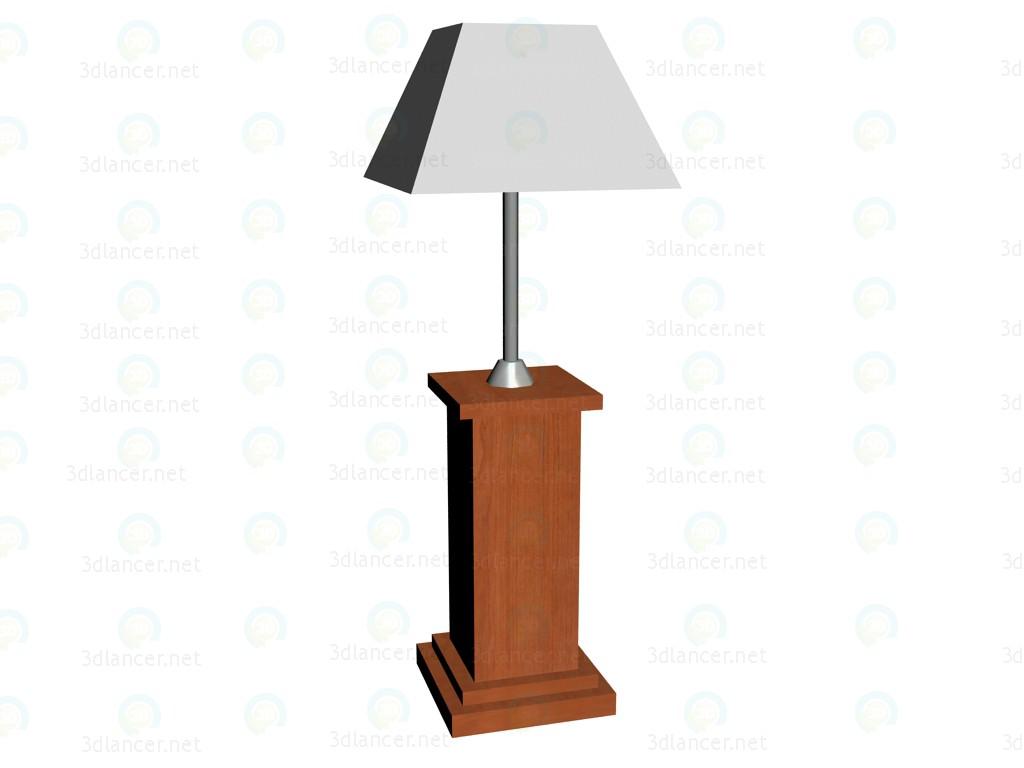 3d модель Лампа низкая VOX – превью