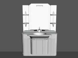 Modular system for bathroom (composition 55)