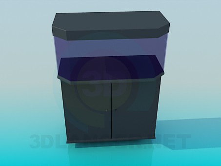 3d model Aquarium - preview
