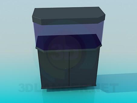 descarga gratuita de 3D modelado modelo acuario