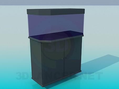 modelo 3D acuario - escuchar