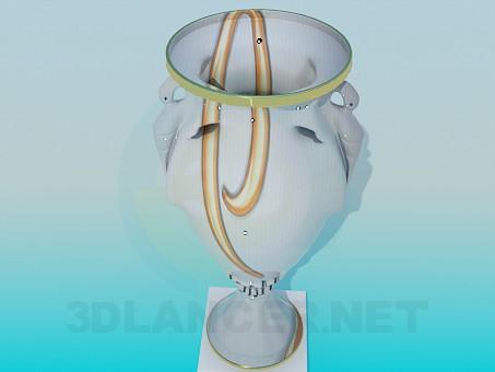 modelo 3D Florero de - escuchar