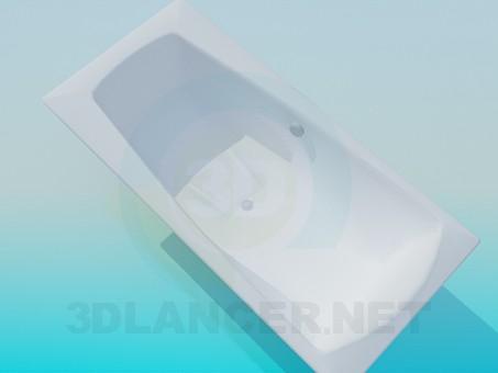 modèle 3D Rétrécie bain - preview
