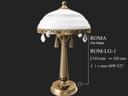 Table lamp KUTEK ROMA ROM-LG-1