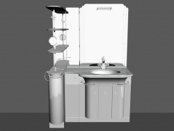 Modular system for bathroom (song) (56)