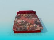Кровать с емкостью для хранения вещей