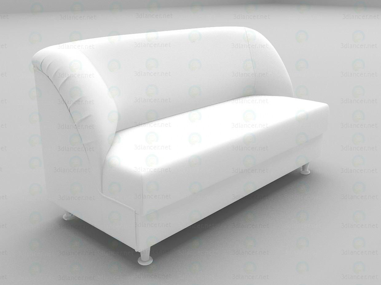 3d model Office sofa - preview