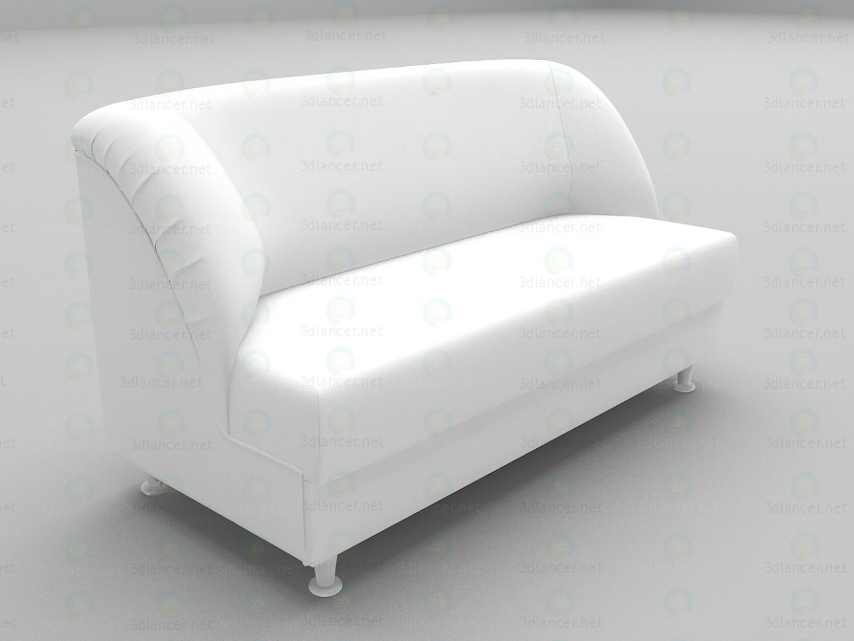 modèle 3D Sofa de bureau - preview