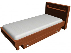 Ліжко 1-но місцеві 90 х 200