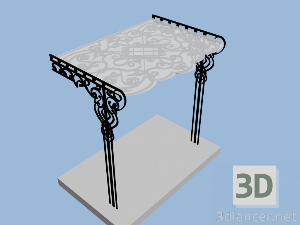 3d model Visor - preview