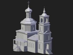 Arzamas. Nikolsky Tempel