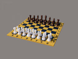 Chess board with chess. Chess board with chess. Chess board with chess.