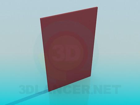 3d модель Дверцята від кухонної шафки – превью
