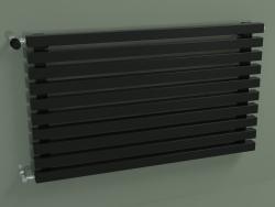Radiateur horizontal RETTA (10 sections 1000 mm 40x40, noir brillant)