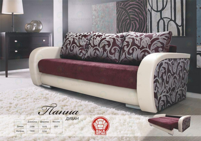 3d модель Панна – превью