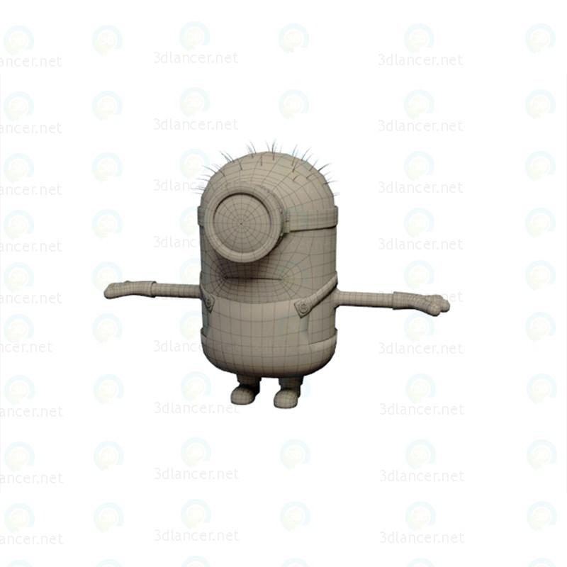 3d Minion model buy - render
