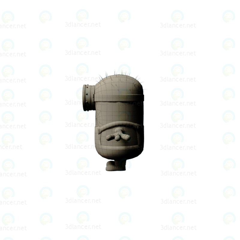 Minion 3D modelo Compro - render