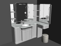 Modular system for bathroom (song) (64)