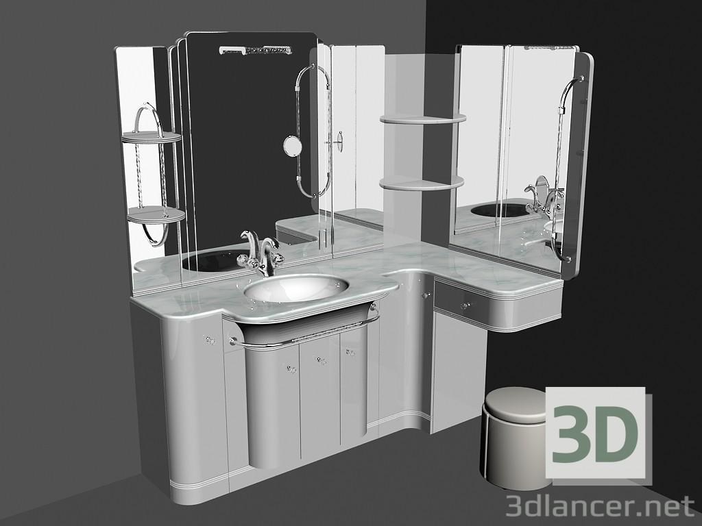 3d model Modular system for bathroom (song) (64) manufacturer ...