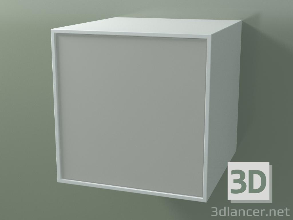 3d model Box (8AUACB03, Glacier White C01, HPL P02, L 48, P 50, H 48 cm) - preview