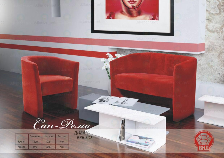 3d model Sun-Remo - preview