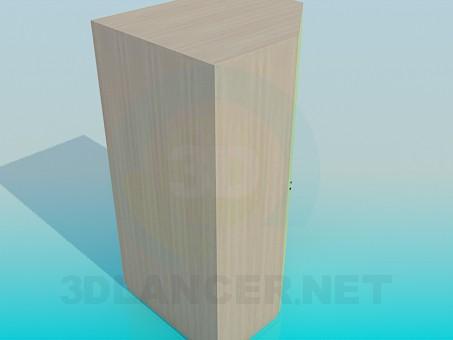 3d модель Угловой шкаф – превью