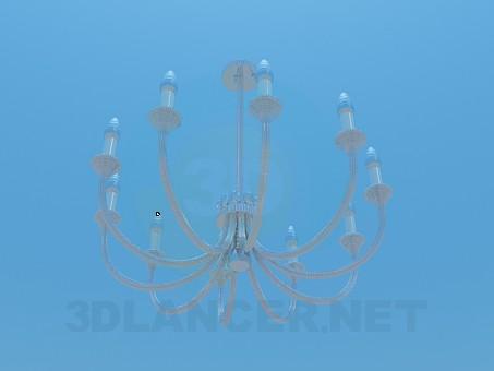 3d модель Люстра с канделябрами – превью
