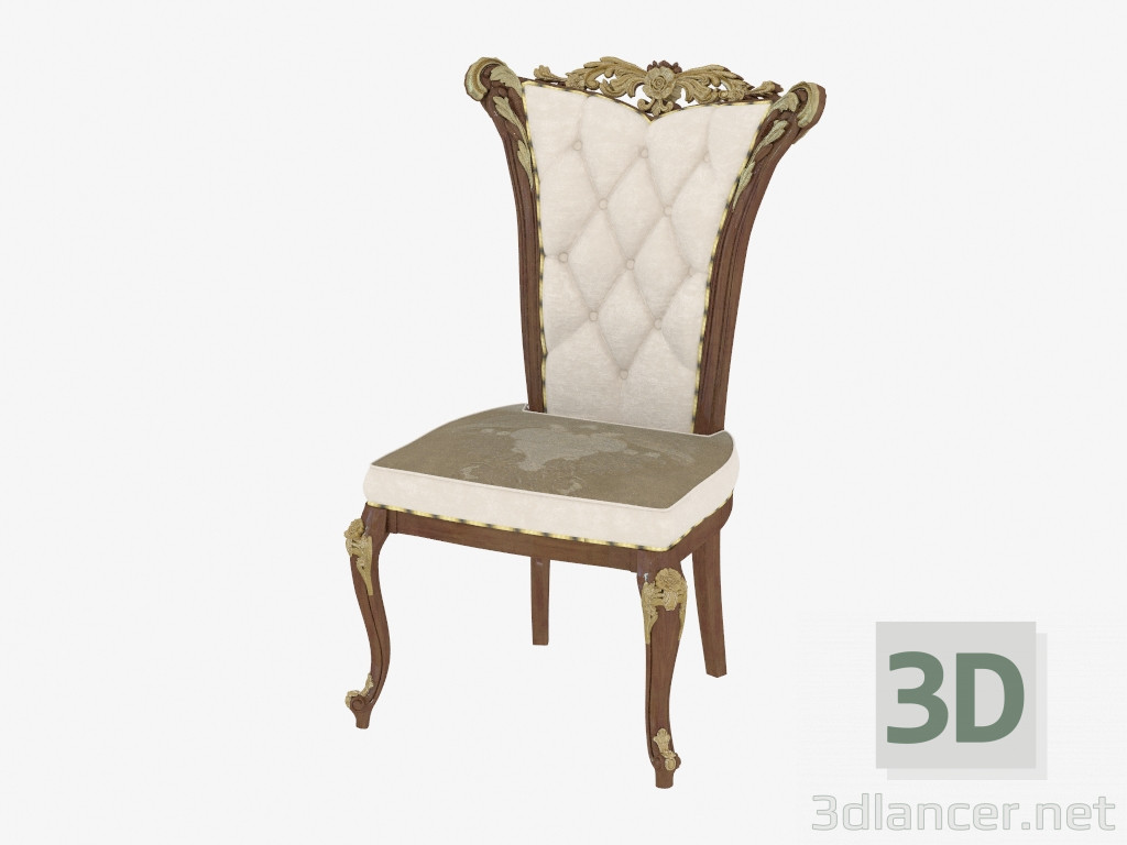 3d model Dining chair in classic style 210,AR Arredamenti ...