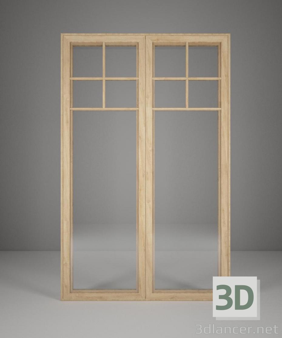 Scarica di finestra modello gratuito di modellazione 3D