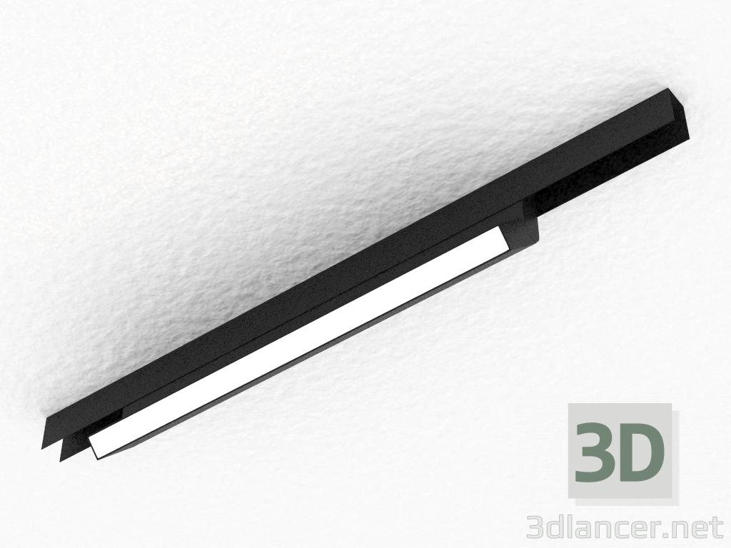 3 डी मॉडल चुंबकीय busbar के लिए एलईडी दीपक (DL18787_Black 20W) - पूर्वावलोकन