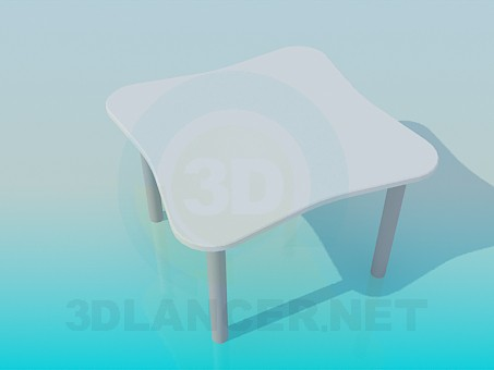3d modeling Table for coffee model free download