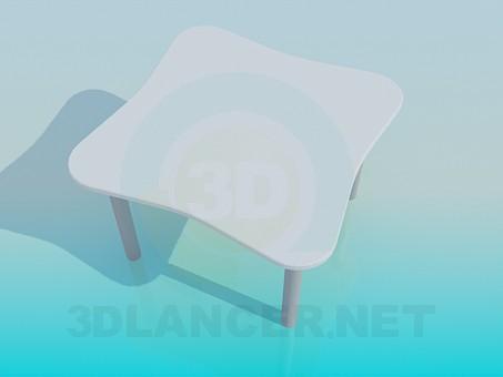 modelo 3D Mesa de café - escuchar
