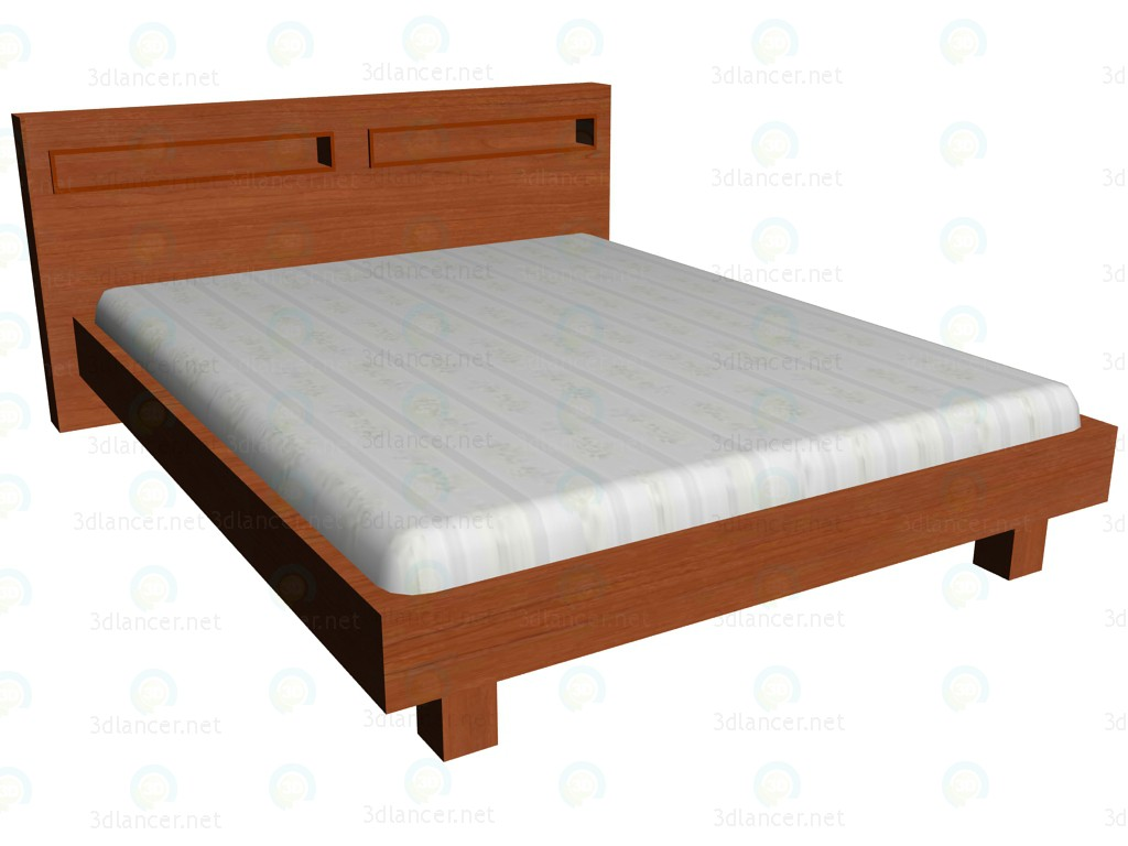 3d model Bed 160 x 200 - preview
