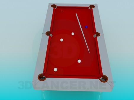 3d model Billiard table - preview