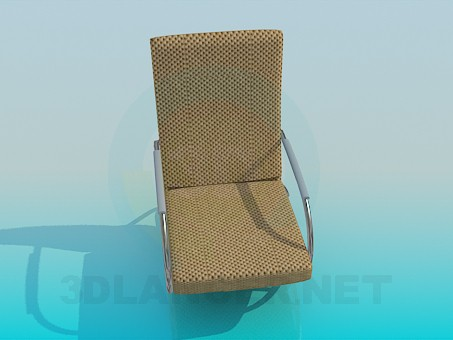 3d model Modern rocking chair - preview