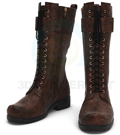 3d model Boots - preview