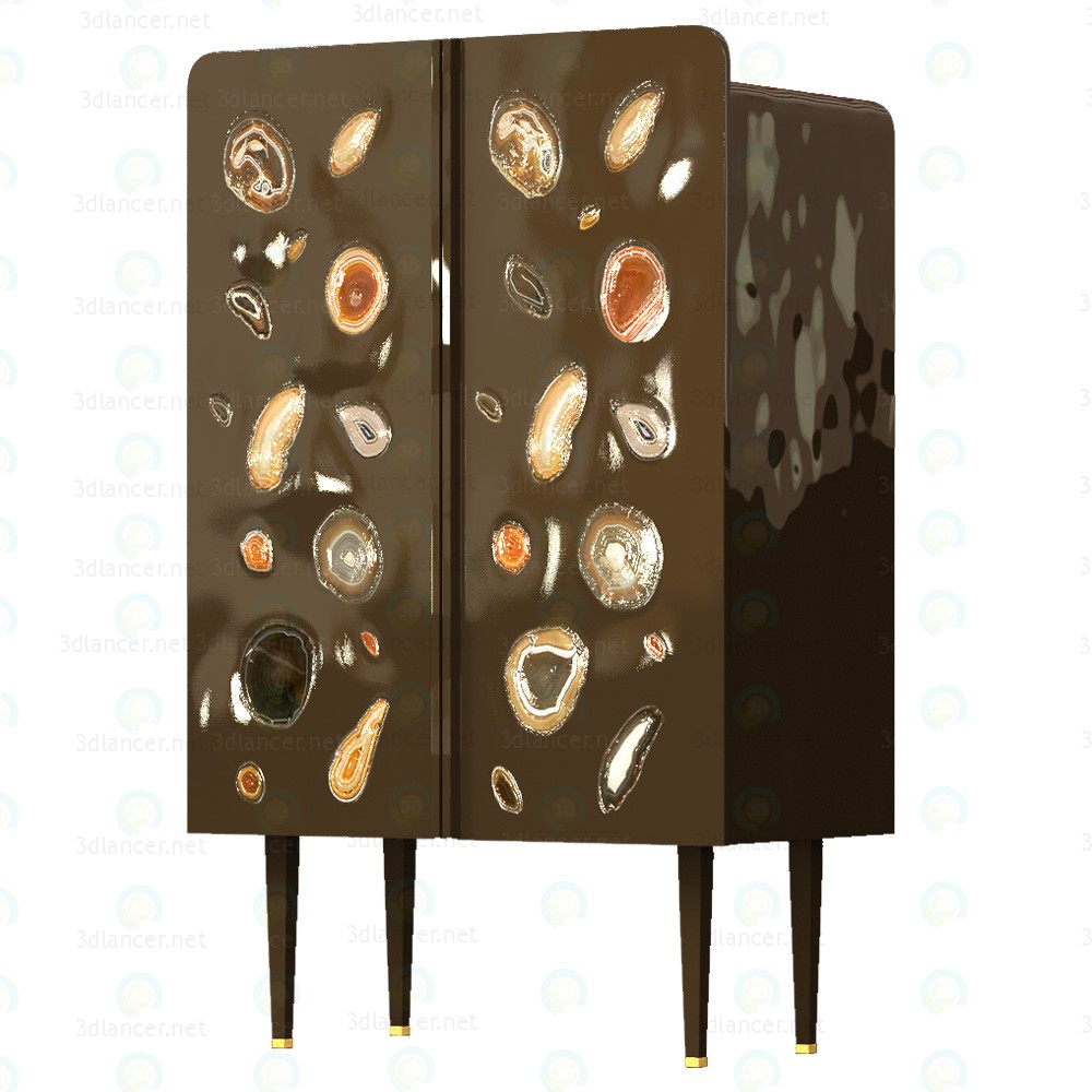 3d Patrick Naggar Gem Cabinet model buy - render