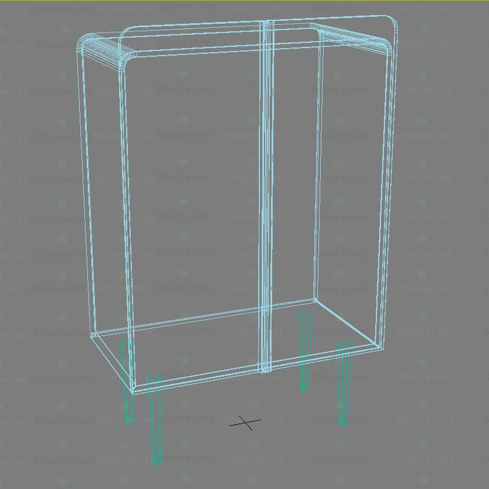 Gabinete de Patrick Naggar gema 3D modelo Compro - render