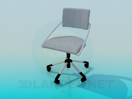 3d model Chair Office - preview