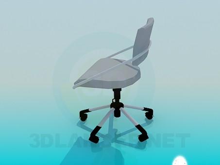 3d модель Стул офисный – превью