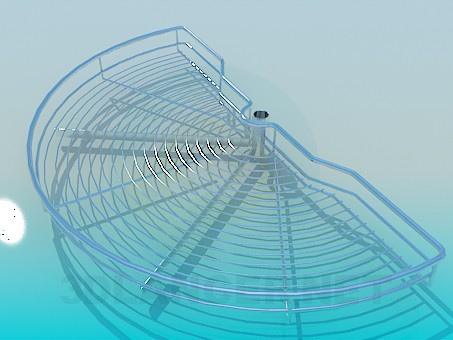 modelo 3D Montaje Сarousel - escuchar
