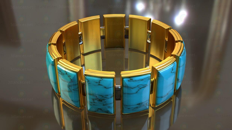 modelo 3D Una pulsera - escuchar