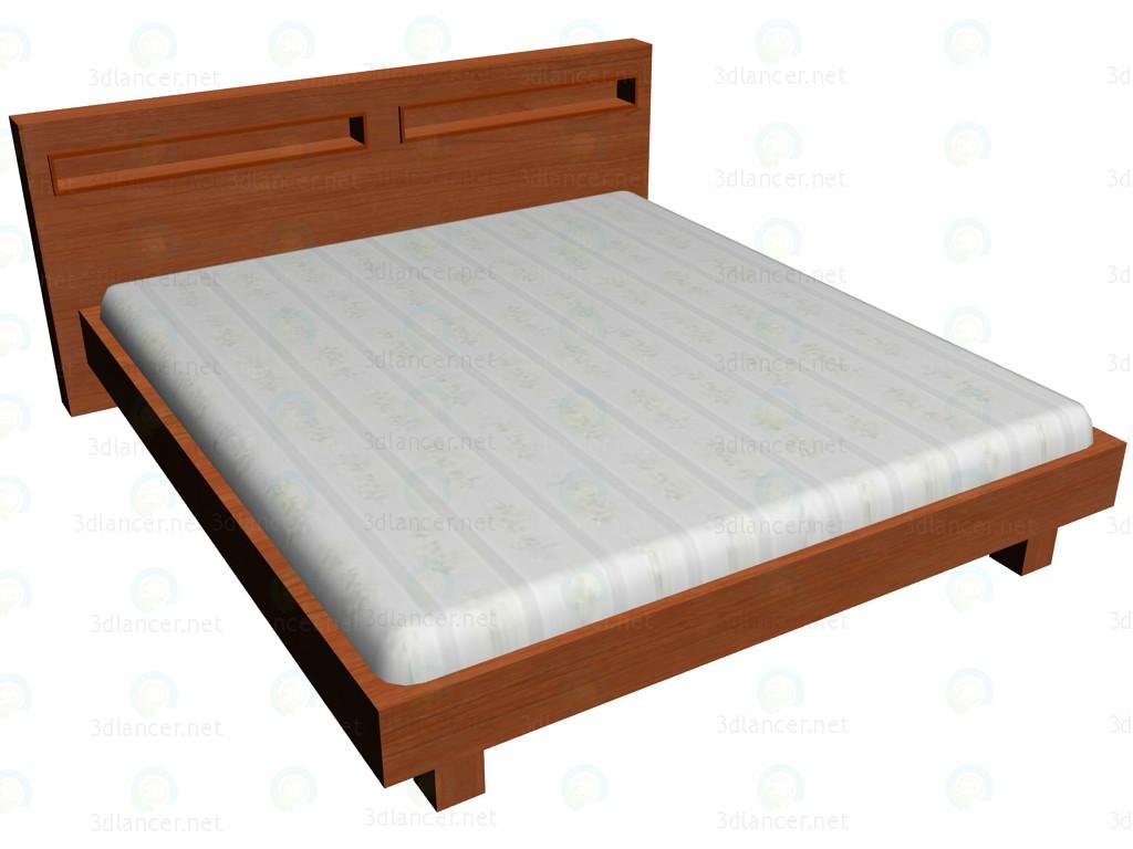 3d модель Кровать 180х200 VOX – превью